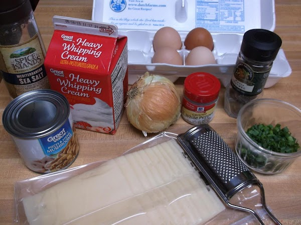 Gather and prep all ingredients (thaw pie crust, if using frozen.)