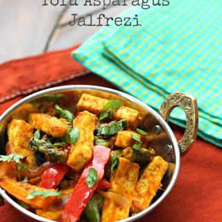 Tofu Asparagus Jalfrezi