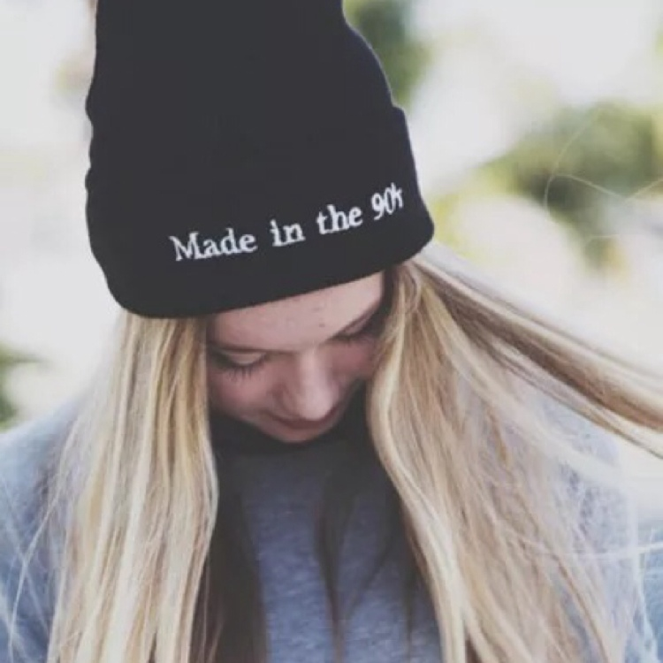 Made In The 90's Beanie by Vogue Malaysia Official