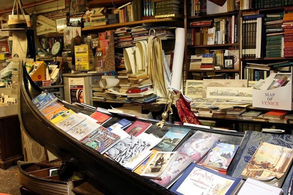 Libreria Acqua Alta, a livraria inundada de Veneza
