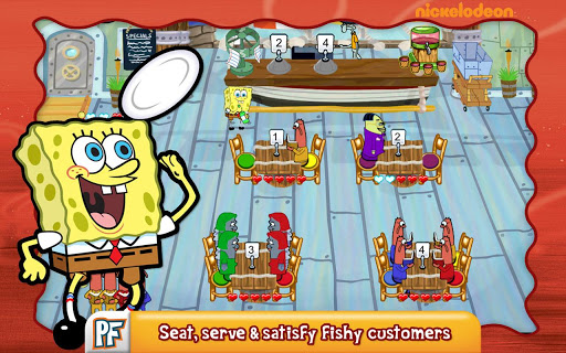 SpongeBob Diner Dash screenshot 10