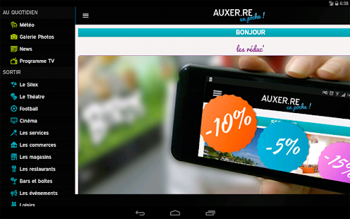 Auxer.re en poche- screenshot thumbnail