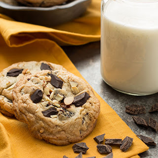 Cherry Almond Chocolate Chunk Cookies Recipe