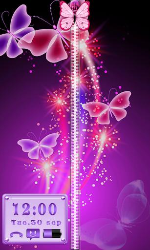 蝴蝶锁 - 拉链