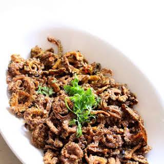 Karela Fry Recipe, Bitter Gourd Fry | Kakarakaya Fry.