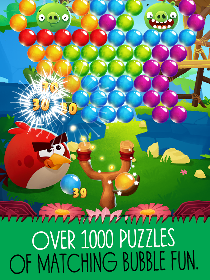 Screenshots of Angry Birds POP Bubble Shooter for iPhone