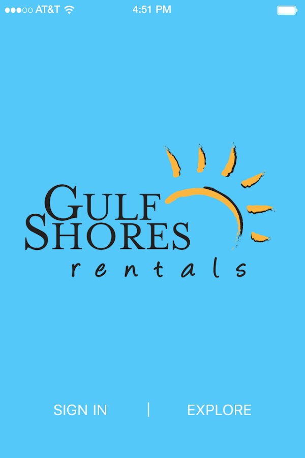 Gulf Shores Rentals- screenshot