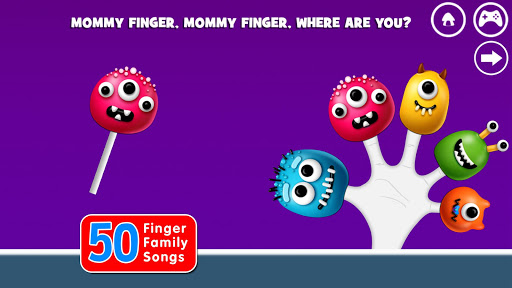 Finger Family Rhymes And Game  screenshots 5