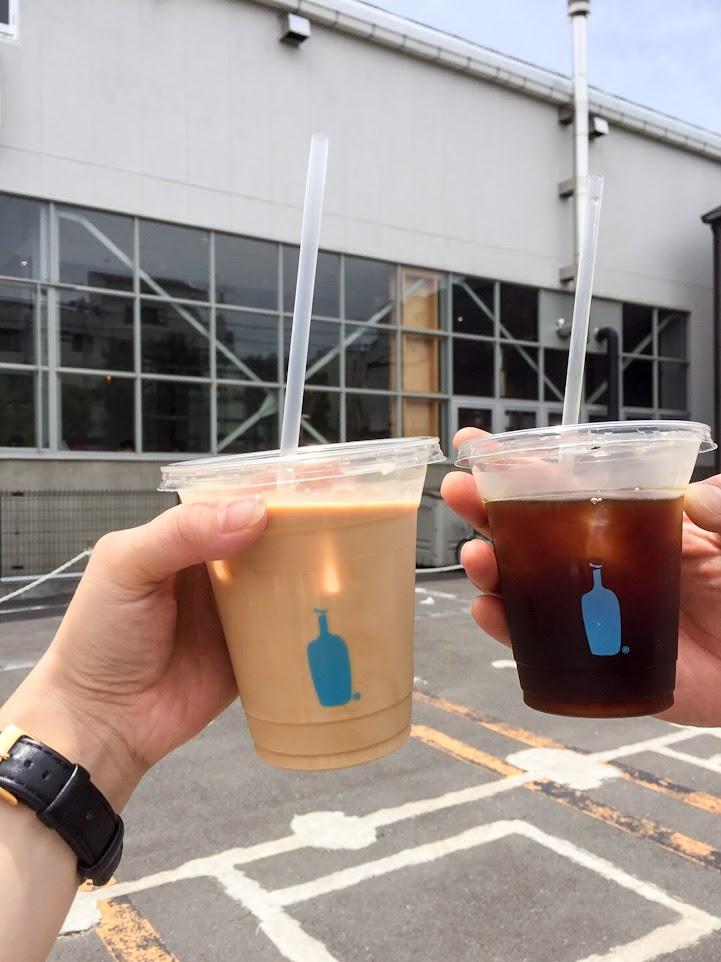 憧れのブルーボトルコーヒー、おいしそ〜♡
