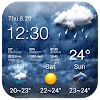 Rainy Storm Tracker Widget