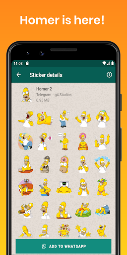 Stickers Collection for WhatsApp - WAStickerApps screenshot 5