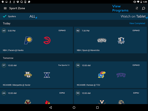 Spectrum TV app (apk) free download for Android/PC/Windows