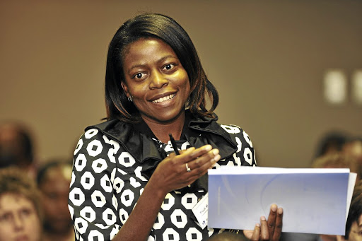 Trudi Makhaya is smashing the glass ceiling.