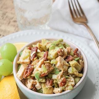 Crunchy Chicken Avocado Salad - Paleo & Gluten Free