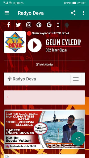İstanbul Radyo Deva screenshot 1