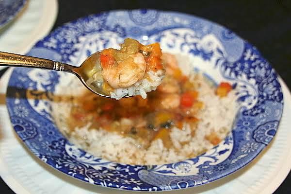Simply Divine Shrimp Etouffee