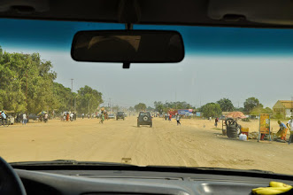 Photo: arrival to Muanda