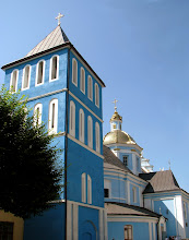 Photo: Sambor, miasto nad Dniestrem. Cerkiew greckokatolicka z 1738 roku.