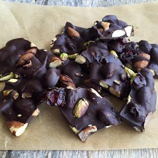 Dark Chocolate Nut Clusters