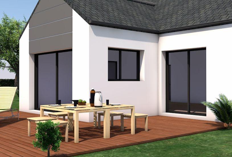 Vente Terrain + Maison - Terrain : 446m² - Maison : 106m² à Nivillac (56130)