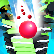Ball Run Stack - 5 Ball Game Stack, Ball 3D Helix