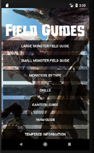 Field Guides for MHW 2.92 APK Mod for Android 1