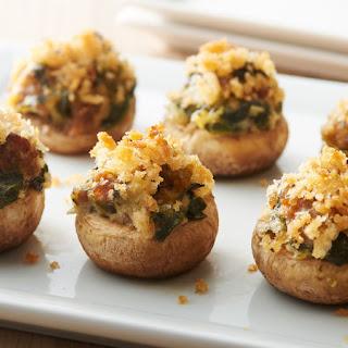 Easy Stuffed Mushrooms.