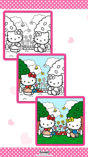 Color by Number with Hello Kitty apktram screenshots 5