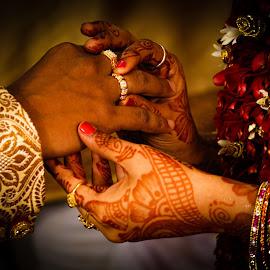 Wedding Rings by Manoj Satyvolu - Wedding Bride & Groom ( #wedding #tredition #marriege #engagement )