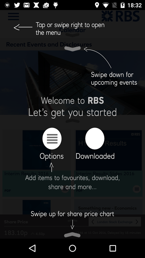 RBS Investor & Media Relations- screenshot