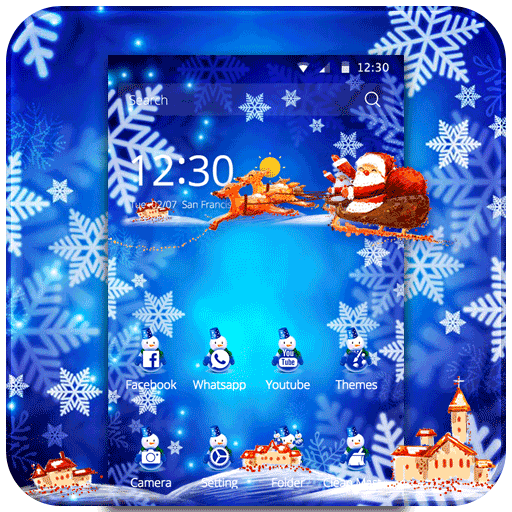 Snowflake Christmas Ice Frozen file APK for Gaming PC/PS3/PS4 Smart TV