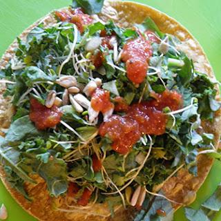 Kale Salad Tacos