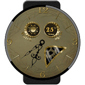 Art nouveau Watch Face Lite
