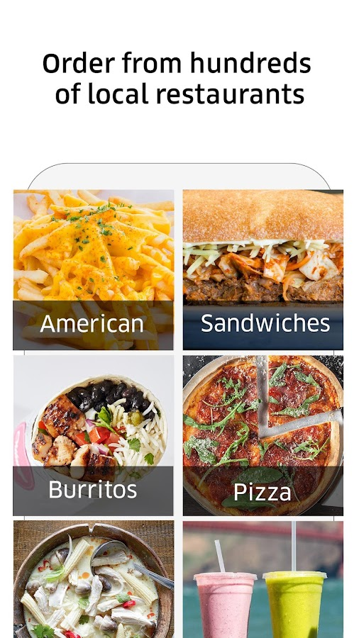 Image Result For Uber Food Delivery Pay