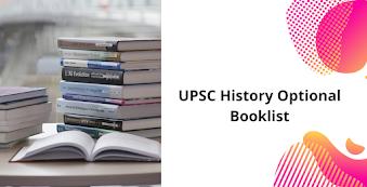 UPSC History Optional Booklist - Check History Optional Books for IAS Exam