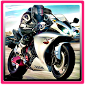 Fast Motorcycle Highway Rider icon