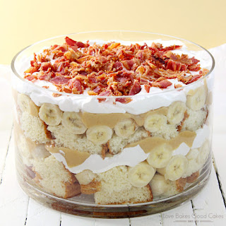Elvis Trifle with Bacon
