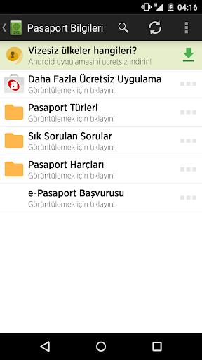 Pasaport Bilgileri