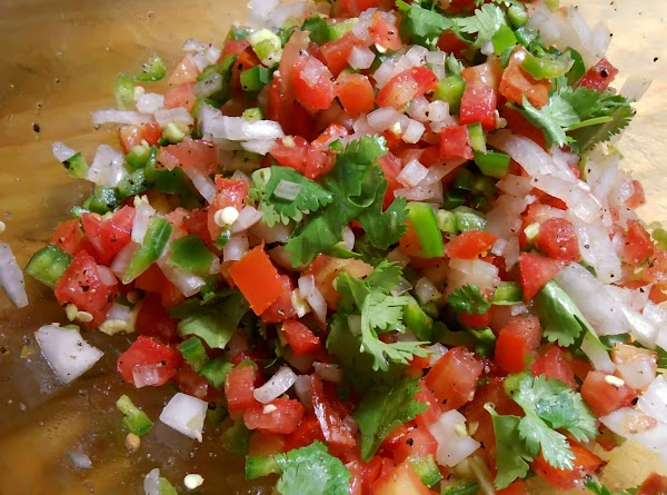 Serve with pico de gallo or any of your favorite Mexican toppings or condiments.