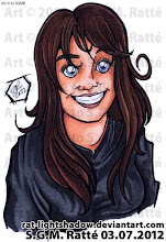 Photo: #BustedHead #Commission two of two for +Rogers George , this one of his lovely wife, +Valerie George . I hope they both like it :)  Get your own Busted Head just like this for only 12$CAD! Email me at steph.ratte@gmail.com for more info!  #Art #Illustration #Markers #Avatars