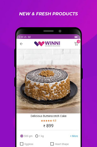 Winni - Cake, Flowers & Gifts Delivery India 3.16.0.1 screenshots 7