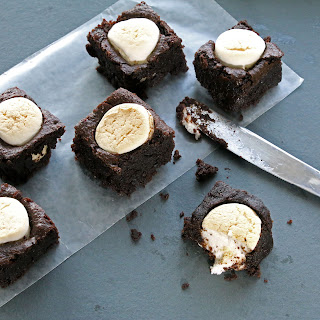 Toasted Marshmallow Brownies (Gluten-Free, Bean-Free, Vegan / Plant-Based, Refined Sugar-Free) Recipe