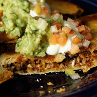 Three Chile Quesadillas