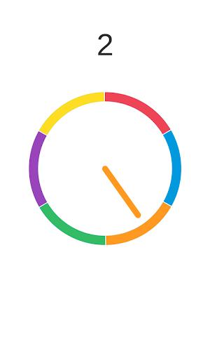 android Insane Wheel-Spinny Circle Screenshot 3