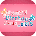 Funny Birthday Cards for Girls icon