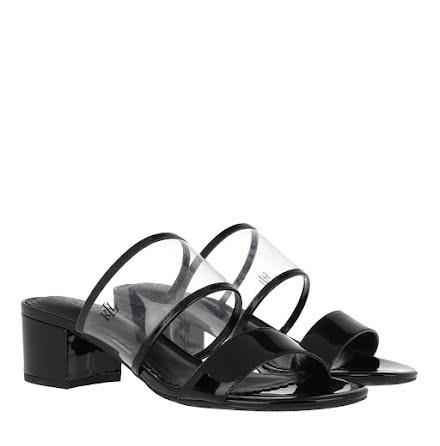 Whitni Sandals, clear/black