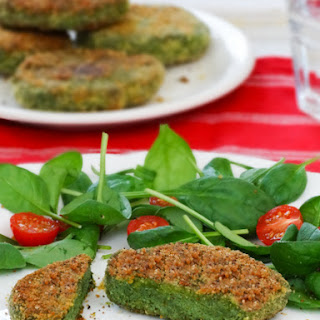 Simple Chicken and Spinach Patties for a tasty dinner