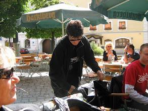 Photo: Fahrt zur Sprungschanze