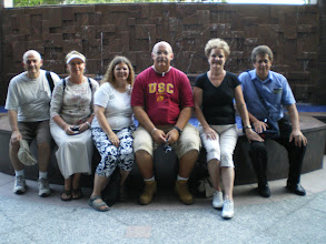 Photo: Our group -- the Davis', Martinezs' and Stokoes