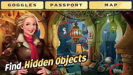 Pearl's Peril - Hidden Object Game APK screenshot thumbnail 1